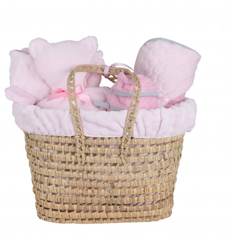 Clair De Lune Polly Marshmallow Gift Set - Pink